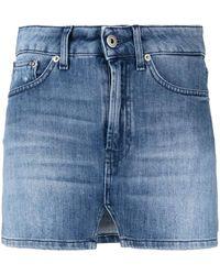 Dondup Denim Mini Skirt - Blue