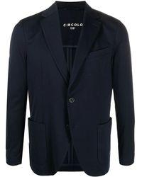 Circolo 1901 - Patch-pocket Cotton Blazer - Lyst