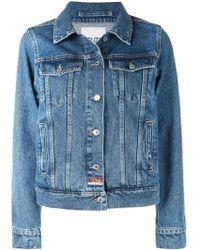 KENZO Giubbotto Jeans - Blu