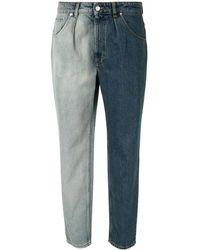 IRO Bicolor Design Jeans - Blue