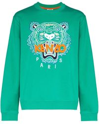 KENZO Tiger Sweat - Green