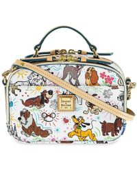 Dooney & Bourke Disney Paw Prints Ambler Crossbody Bag - Multicolor