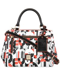 Dooney & Bourke Mickey And Minnie Mouse Geometric Satchel - Multicolor