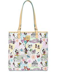 Dooney & Bourke Disney Sketch Tote - White