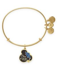 ALEX AND ANI - Mickey Mouse Graduation Cap Bangle - Lyst