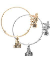 ALEX AND ANI Cinderella Castle Figural Bangle - Metallic