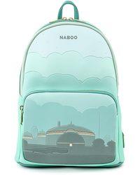 Disney Loungefly Star Wars Naboo Mini Backpack - Green