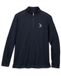 Tommy Bahama Mickey Mouse Long Sleeve Pullover - Blue