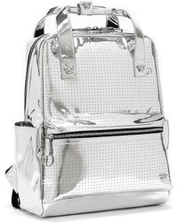 Disney Mickey Mouse Silver Backpack - Metallic