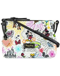 Dooney & Bourke Disney Sketch Nylon Crossbody Bag - Multicolor