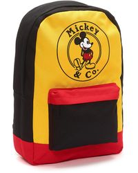 Disney Mickey Mouse Colour Block Backpack - Multicolour