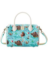Dooney & Bourke Moana Satchel Bag - Blue