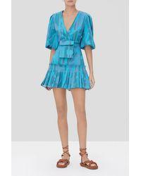 Alexis Sakura Dress - Blue