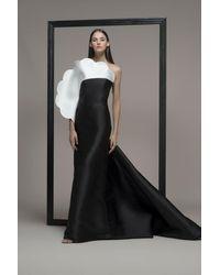 Isabel Sanchis Columnea Strapless Evening Gown - Black