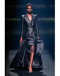 Isabel Sanchis Ferrere Long Sleeve Jacket And Skirt - Black