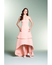 John Paul Ataker - Sleeveless High-low Structured Gown - Lyst