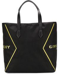 Givenchy Borsa tote con stampa - Nero