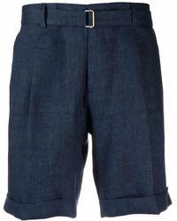 Briglia 1949 - Bermuda chino con cintura uomo blu - Lyst