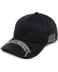 Represent Cappello da baseball con stampa - Nero