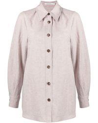 Low Classic Camicia oversize - Rosa