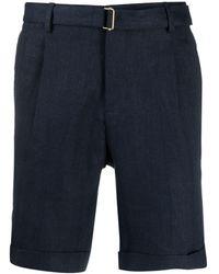 Briglia 1949 Shorts con cintura - Blu