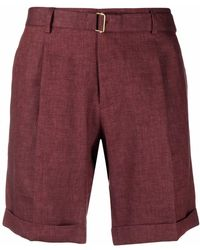 Briglia 1949 Shorts dritti - Rosso