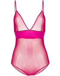 Gcds Body semi trasparente - Rosa