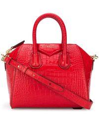 Givenchy Borsa tote Antigona mini - Rosso