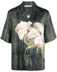 Acne Studios - Camicia a fiori - Lyst