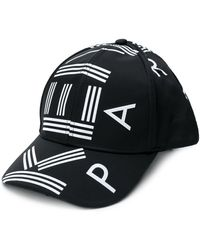 KENZO Cappello con logo - Nero