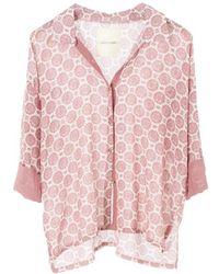DIZA GABO Shirt Hittite - Pink