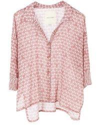 DIZA GABO Shirt Astec French Rose - Pink