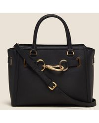 DKNY - Sally Pebbled Leather Tote - Lyst