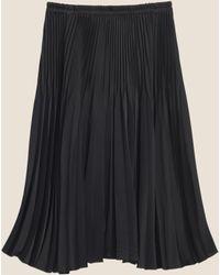 DKNY - Pleated Skirt - Lyst