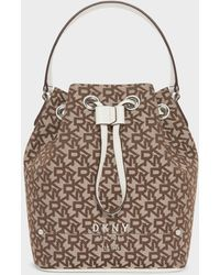 DKNY Thompson Town & Country Bucket Bag - Multicolor
