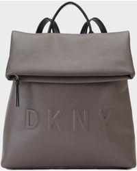 DKNY - Debossed Logo Medium Backpack - Lyst