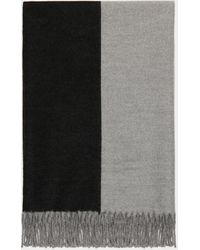 DKNY Colorblock Oblong Scarf - Gray