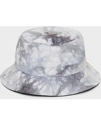 DKNY Tie Dye Bucket Hat - Gray