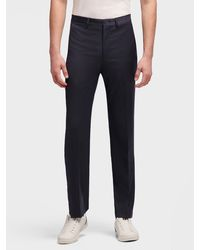 DKNY Wool Suit Pant - Blue