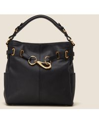 DKNY - Sally Pebbled Leather Hobo - Lyst