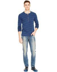 DKNY Varick Skinny Jean - Blue
