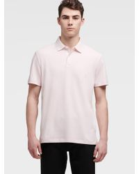 DKNY Polo With Collar Trim - Multicolor