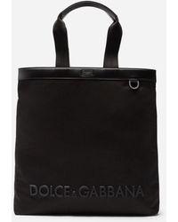 Dolce & Gabbana 'Technical' Shopper - Schwarz