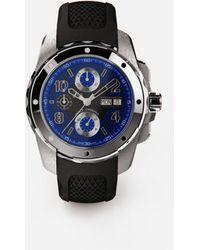 Dolce & Gabbana Ds5 Watch In Steel - Negro