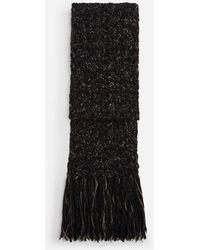 Dolce & Gabbana Wool And Cashmere Scarf - Grau