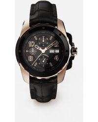 Dolce & Gabbana Uhr Ds5 Aus Rotgold Und Stahl Pvd - Mehrfarbig