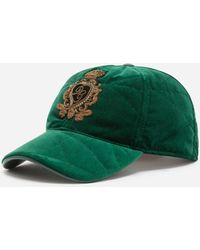 Dolce & Gabbana - Baseball Cap With Patch - Lyst