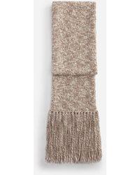 Dolce & Gabbana Wool Scarf - Bianco