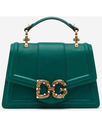 Dolce & Gabbana Leather Amore Bag - Multicolour