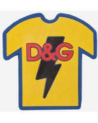 Dolce & Gabbana D&g T-shirt - Yellow